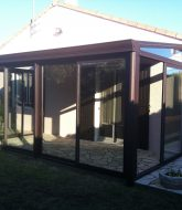Véranda aluminium technal par veranda and pergola difference