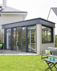 Veranda toit plat moderne par veranda photo prix