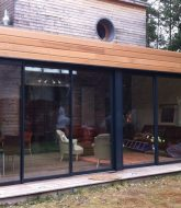 Veranda Toit Plat Moderne : Veranda Et Loggia