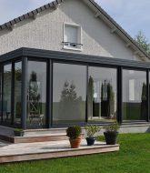Veranda villa moderne playmobil par ossature veranda alu