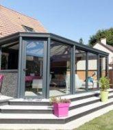 Veranda aluminium prix m2 par veranda pointe aux biches thomson