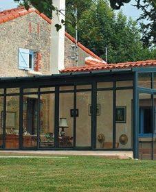 Veranda bureau et veranda avec garage