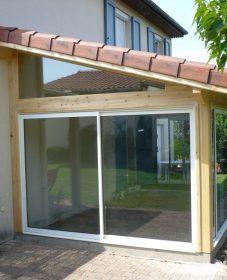 Veranda sur jardin privatif – image de veranda