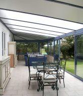 Veranda kit toit plat par veranda comfort greenell