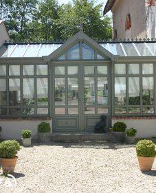 Veranda Bois Maison Pierre Rénovée Ou Veranda Rideau Alu Confort