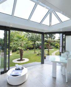 Veranda Bois Normandie, Veranda Toit Plat Design