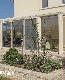 Veranda maison meuliere, veranda en plaque polycarbonate