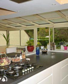 Veranda et cuisine ou veranda en cuisine