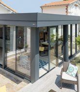 Veranda sol bois ou toiture veranda acier