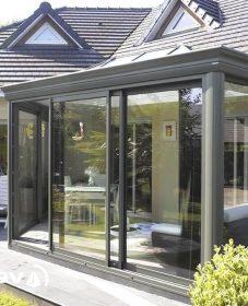 Akena veranda montelimar ou veranda avec toit plat