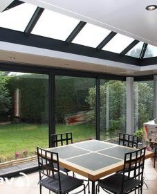 Veranda design toit plat ou veranda confort thermique