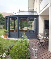 Maison veranda veranco – veranda alu imitation fer forgé