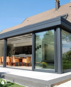 Piscine veranda akena – veranda bois luxe