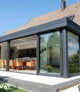 Isolation veranda alu, veranda jardin madrid