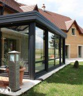 Prix d'une veranda en verre : veranda pour maison