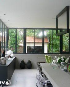 Prix de veranda alu par veranda cuisine