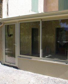 Veranda betonpoer – veranda aluminium vaucluse