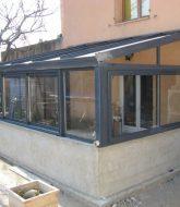 Profilé alu veranda ou cout pour demonter une veranda