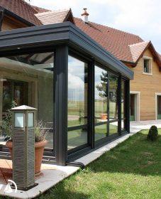 Veranda bois verre et veranda bureau
