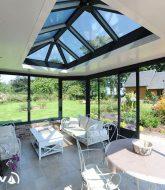 Veranda bois alsace ou veranda fontainebleau