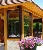 Veranda bois toiture tuiles par construire une veranda en verre