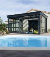 Prix veranda wallis et veranda toit plat kit