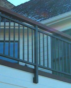 Veranda hotel westbury, veranda railing kit installation